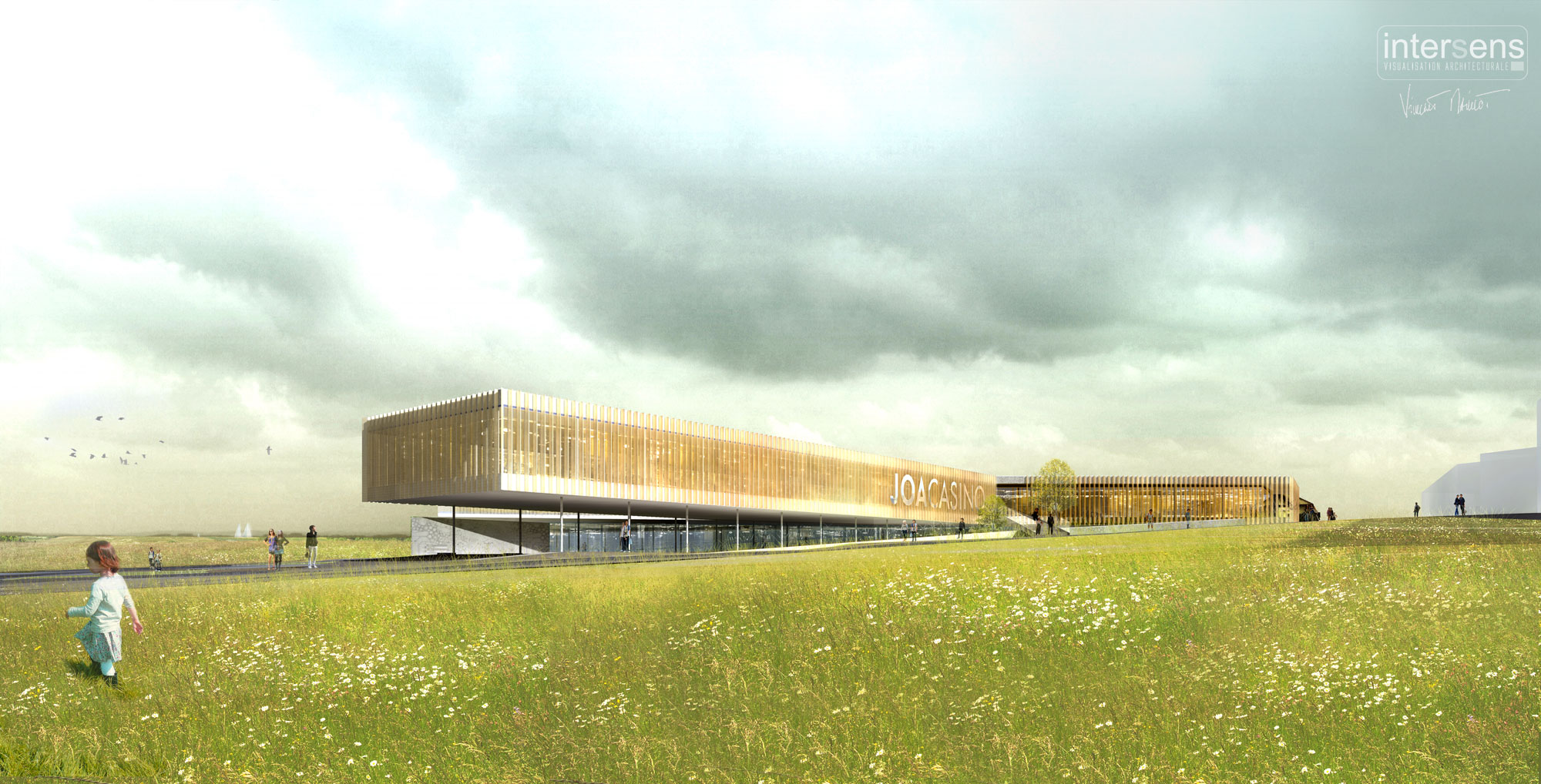 INTERSENS - DATA ARCHITECTE - Casino - Concours Lauréat - Guiffaumont