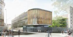 INTERSENS - Fabienne BULLE Architecte - Extension Groupe scolaire - Paris-15e