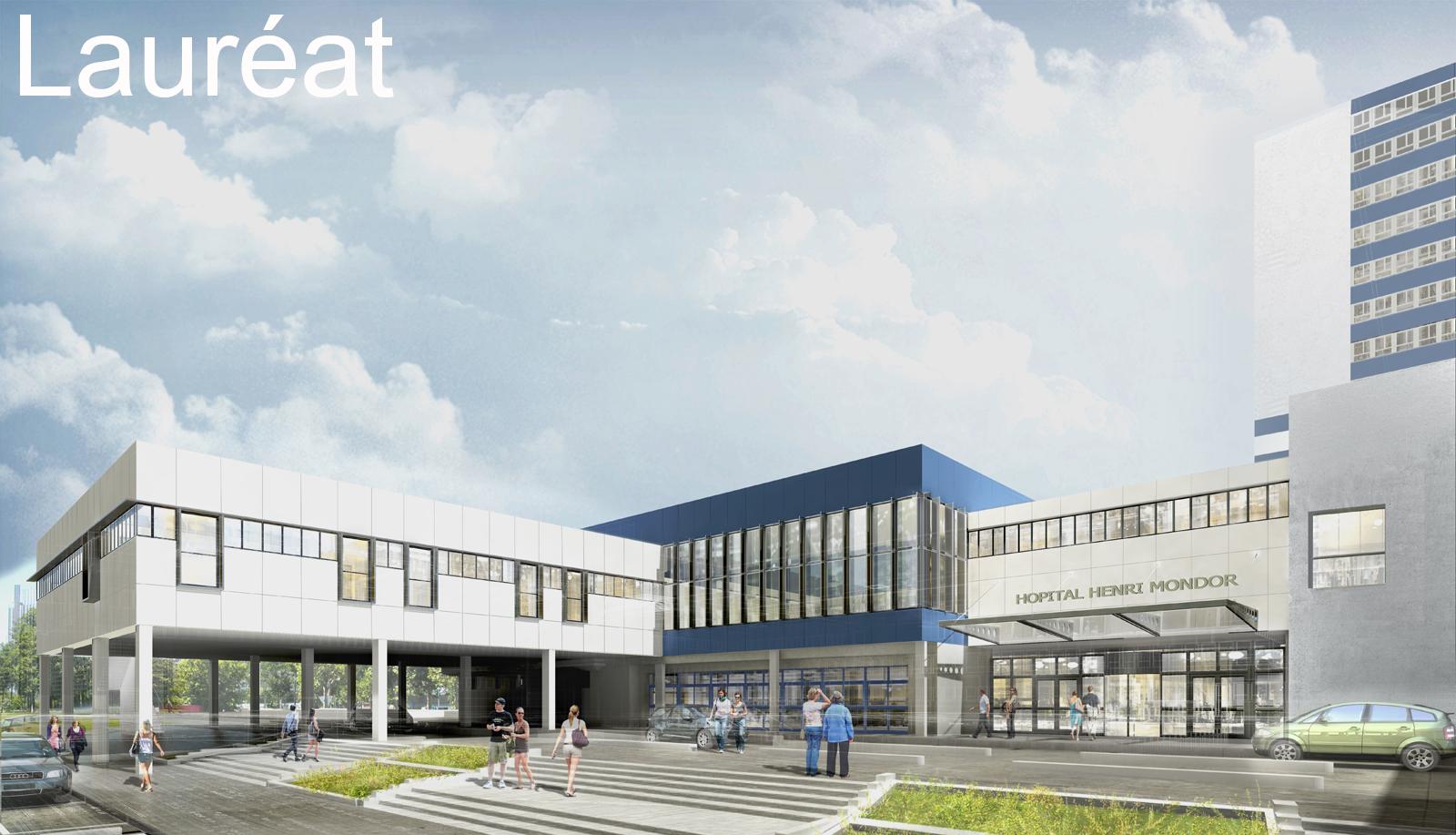 INTERSENS - 3SD Architectes - Hôpital Henri-Mondor - Créteil