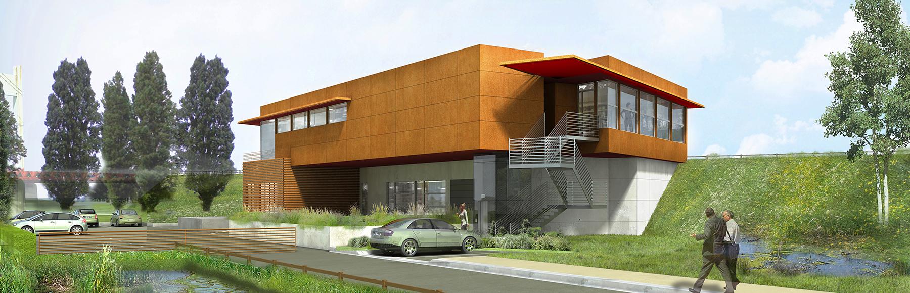 INTERSENS - Beguin & Macchini - Bureaux - Tancarville