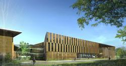 INTERSENS - Sabh - Studiot d'Architecture Bruno Huet - Centre de recherche - St Maurice - Image d'Ar