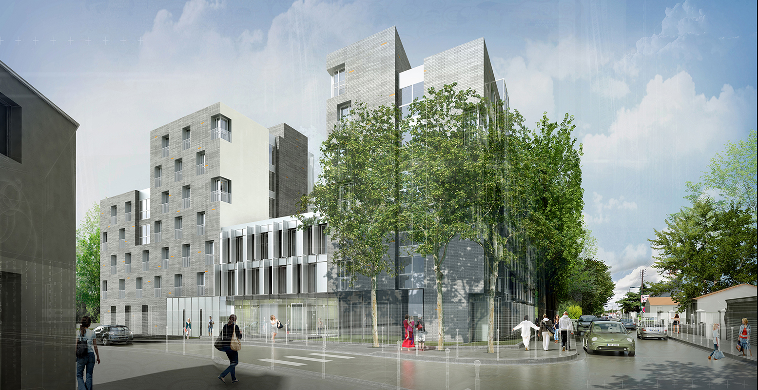 INTERSENS - BEGUIN & MACCHINI Architectes - Logements - Colombes