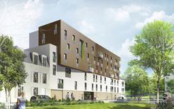 INTERSENS - LEHOUX PHILY & SAMAHA Architectes - Logements - Fonteney sous bois