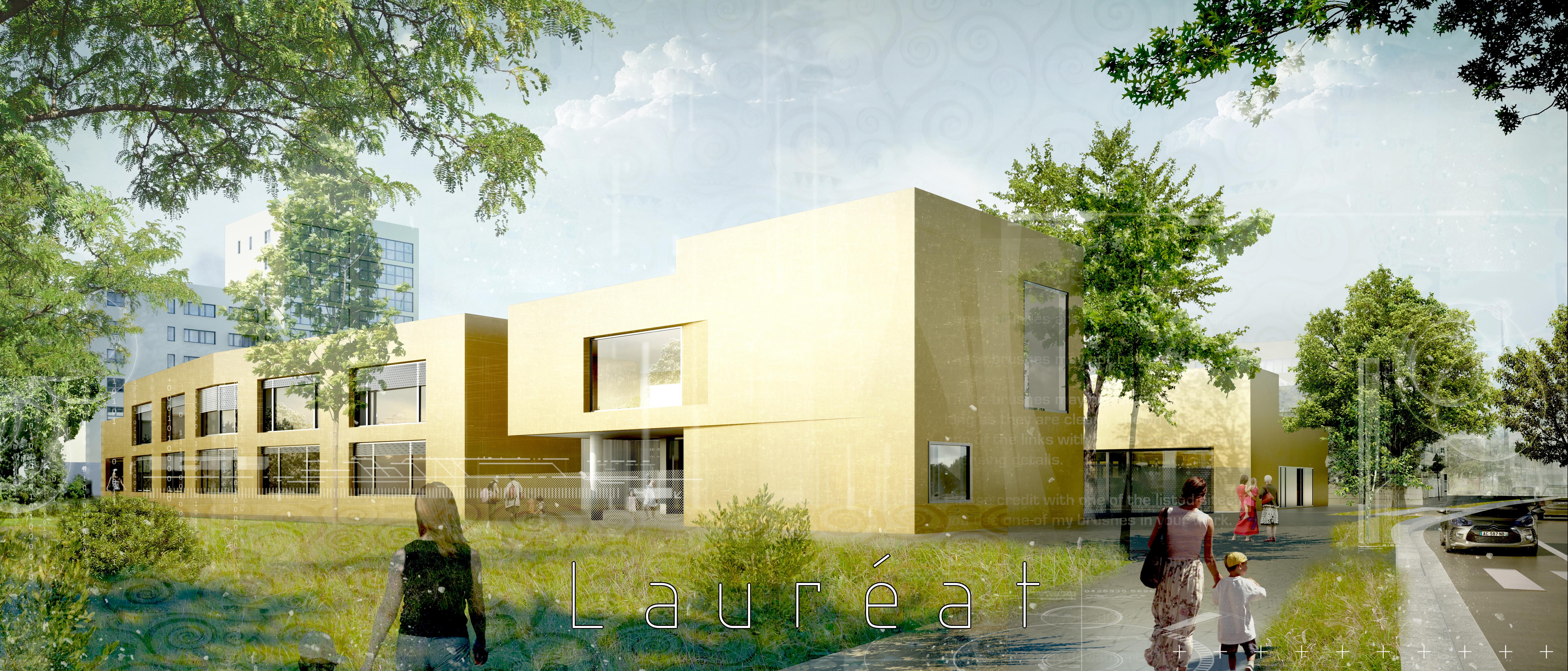 INTERSENS - MARGERIE & PASQUET Architectes - Ecole maternelle - St-Jacques de la Lande
