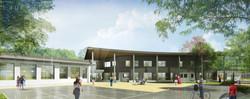 INTERSENS - QUEMIN Bruno Architecte - Maison de santée - Beaurepaire