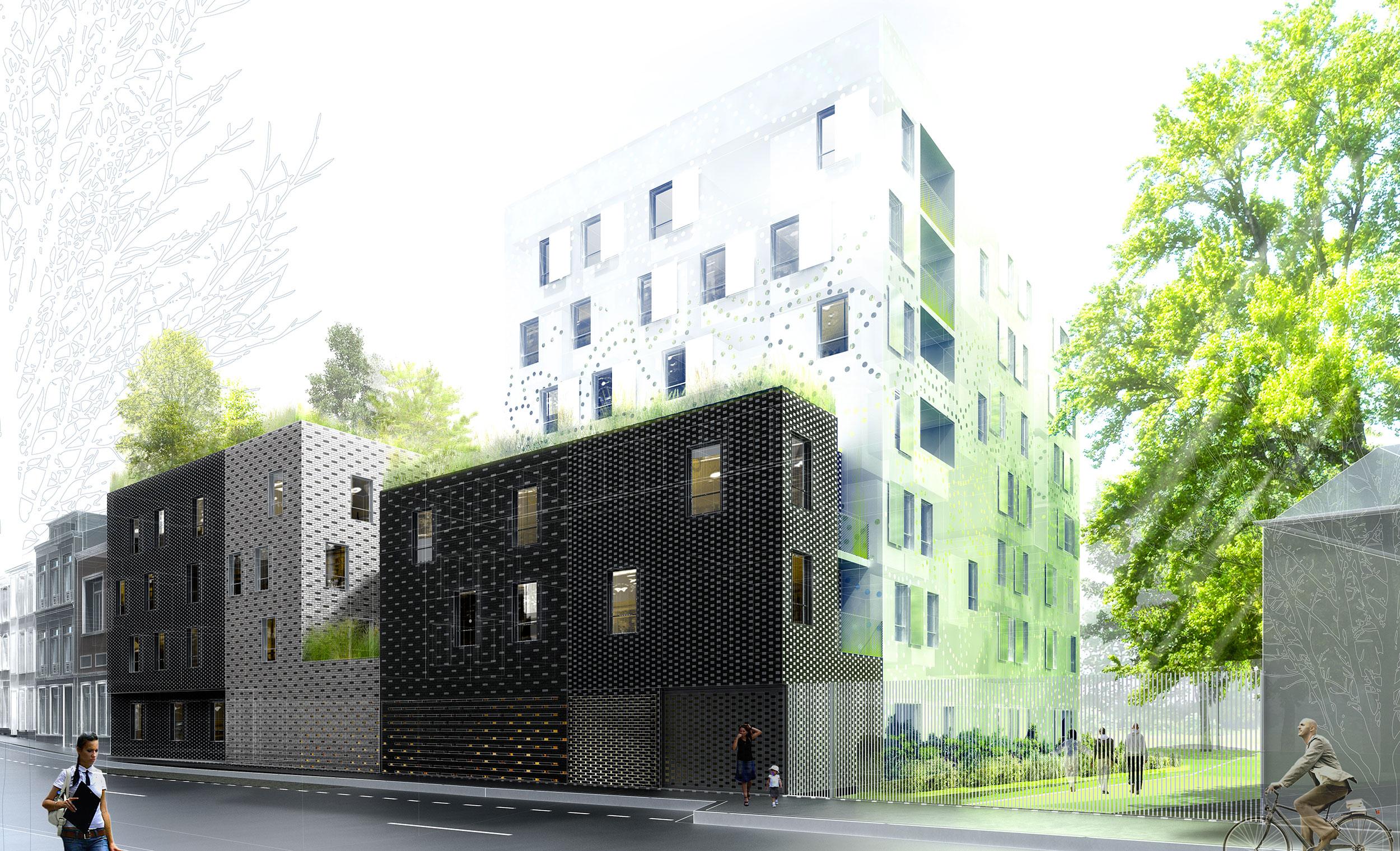INTERSENS - DE ALZUA - Etude - Logements - Lille