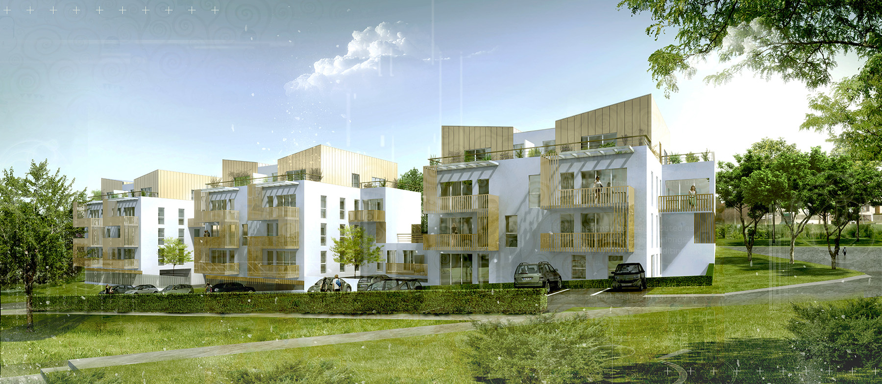 INTERSENS - Beguin & Machinni Architectes - Logements - Gagny