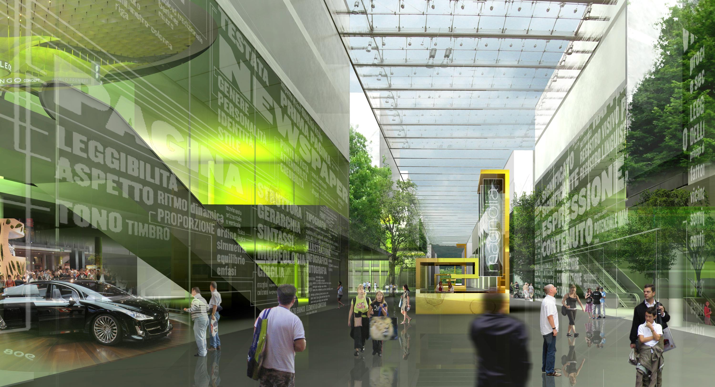Image d'Architecture N04 - JEAN-PAUL VIGUIER ARCHITECTE - Coeur d'Orly - Concours - Orly - INTERSENS