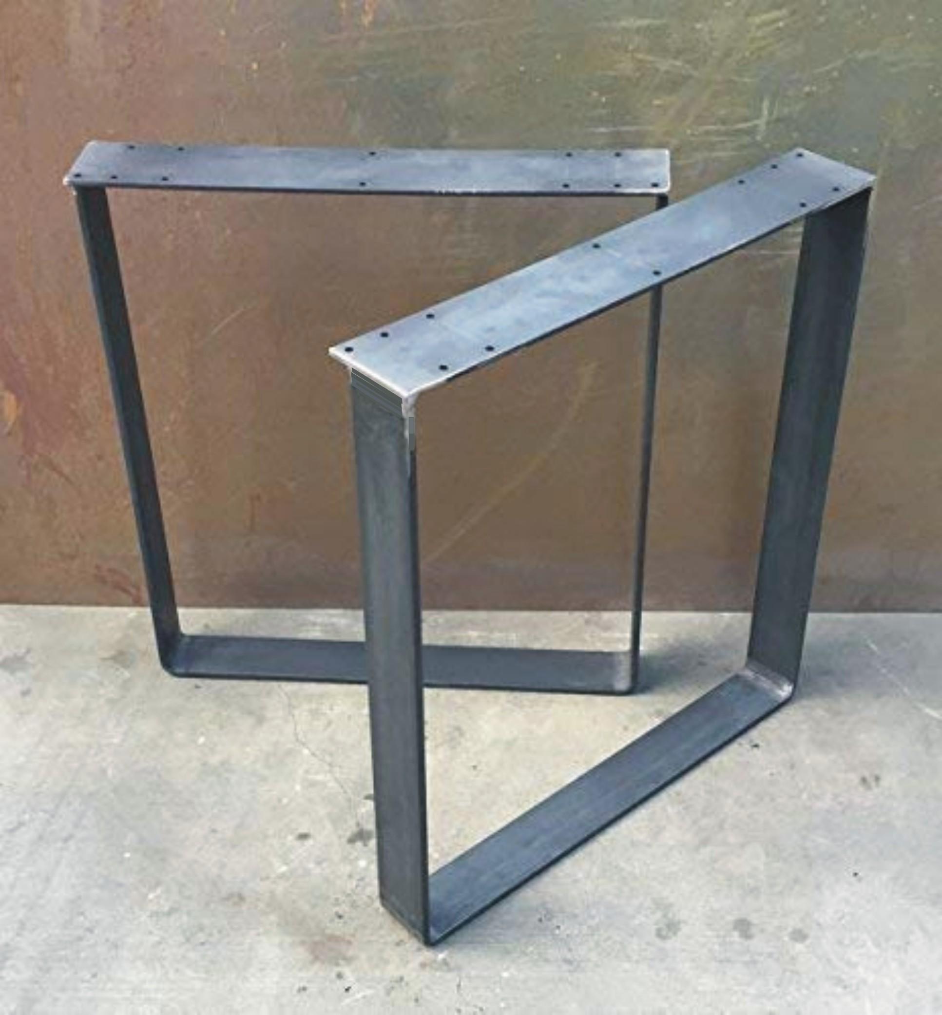 Steel table legs 1