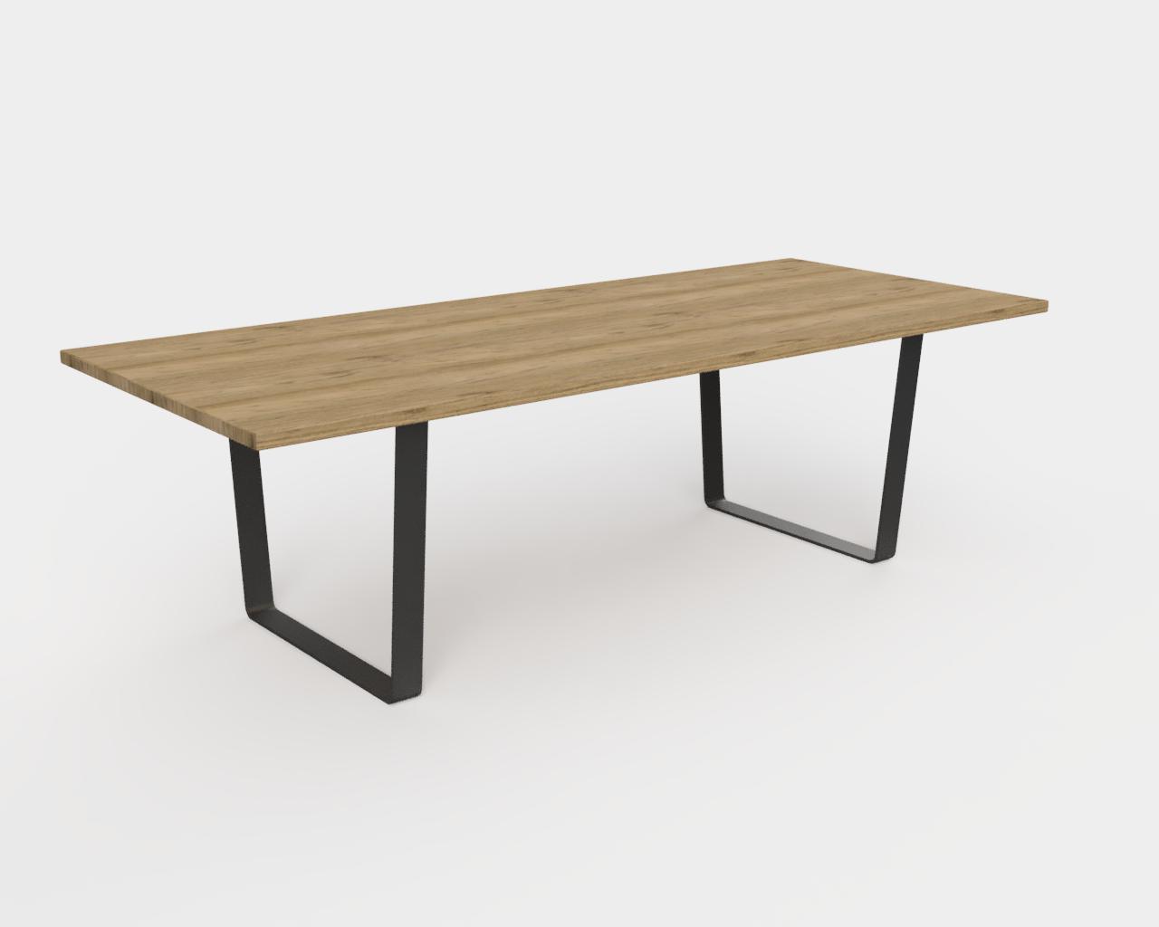 Steel table legs 5