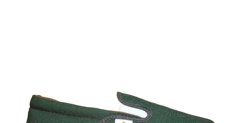 Mocasin Náutico F Madcaps color Verde