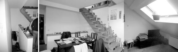photographie avant   entrée & escaliers