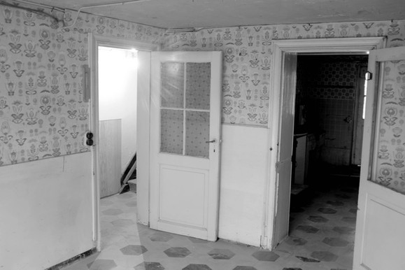 photographie de l'existant   sous-sol