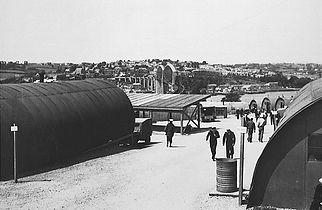 Vicarage Road Camp: US naval base
