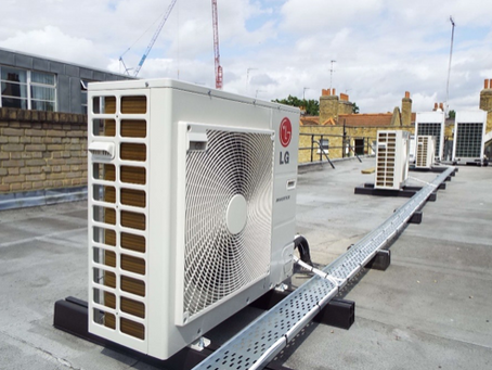 Urban Office Air Con installation in Central London