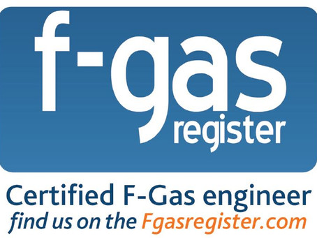 What does F-Gas certified mean?