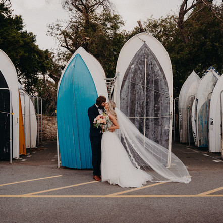 A Royal Freshwater Bay Yacht Club Wedding