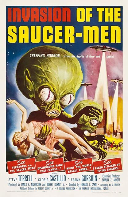 Invasion of the Saucer Men (USA 1957)