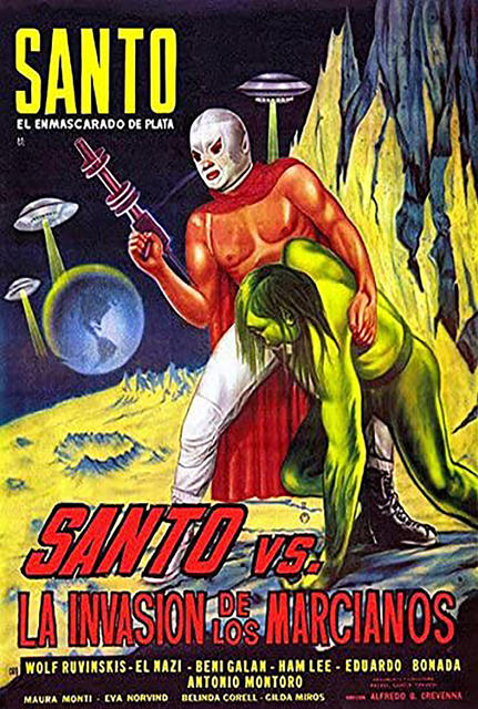 Santo vs. the Martian Invasion (MEX 1967)