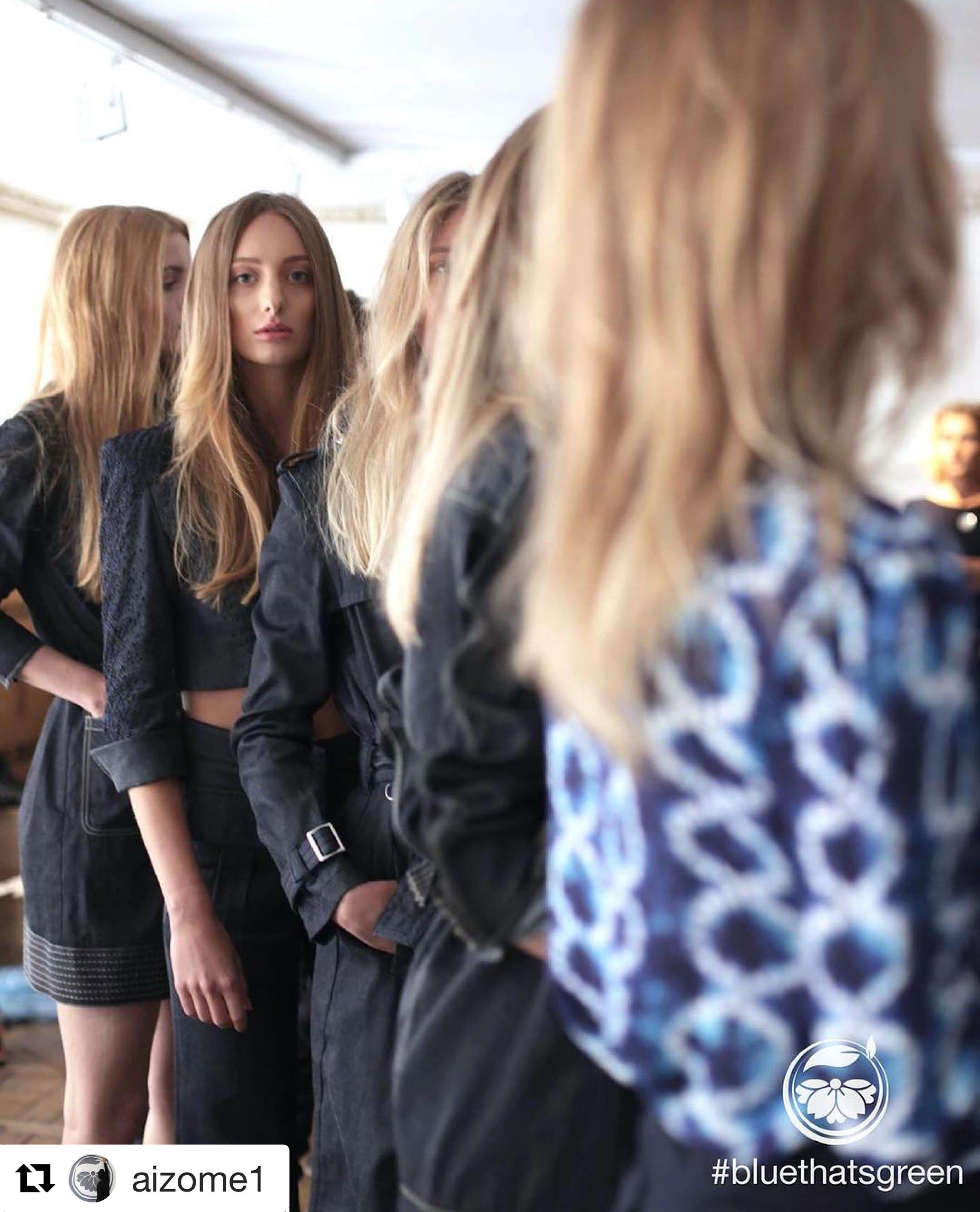 Fashion week in Paris Aizome1