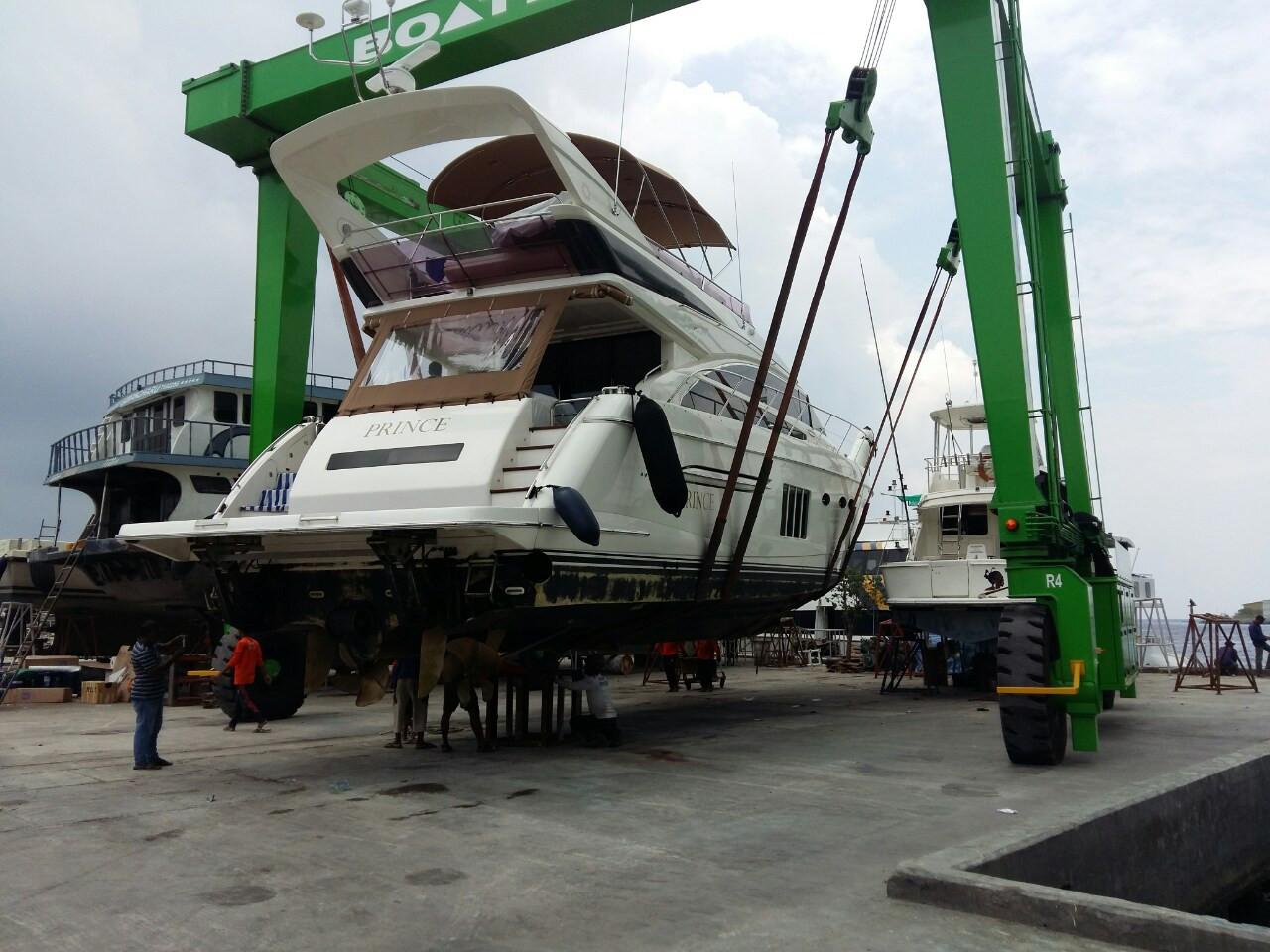 64ft Prince  Yacht Ocean Island