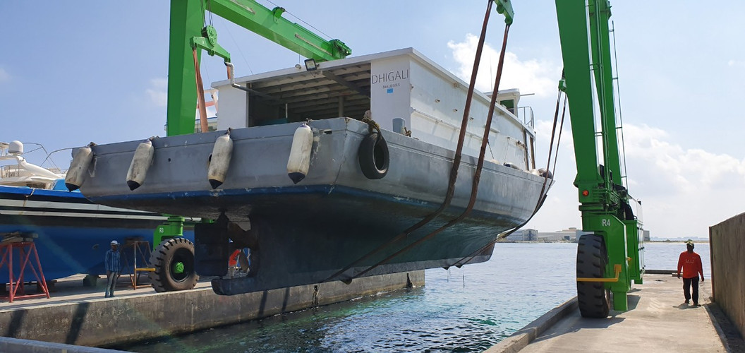 81ft Coral Cargo 2 - Dhigali Maldives