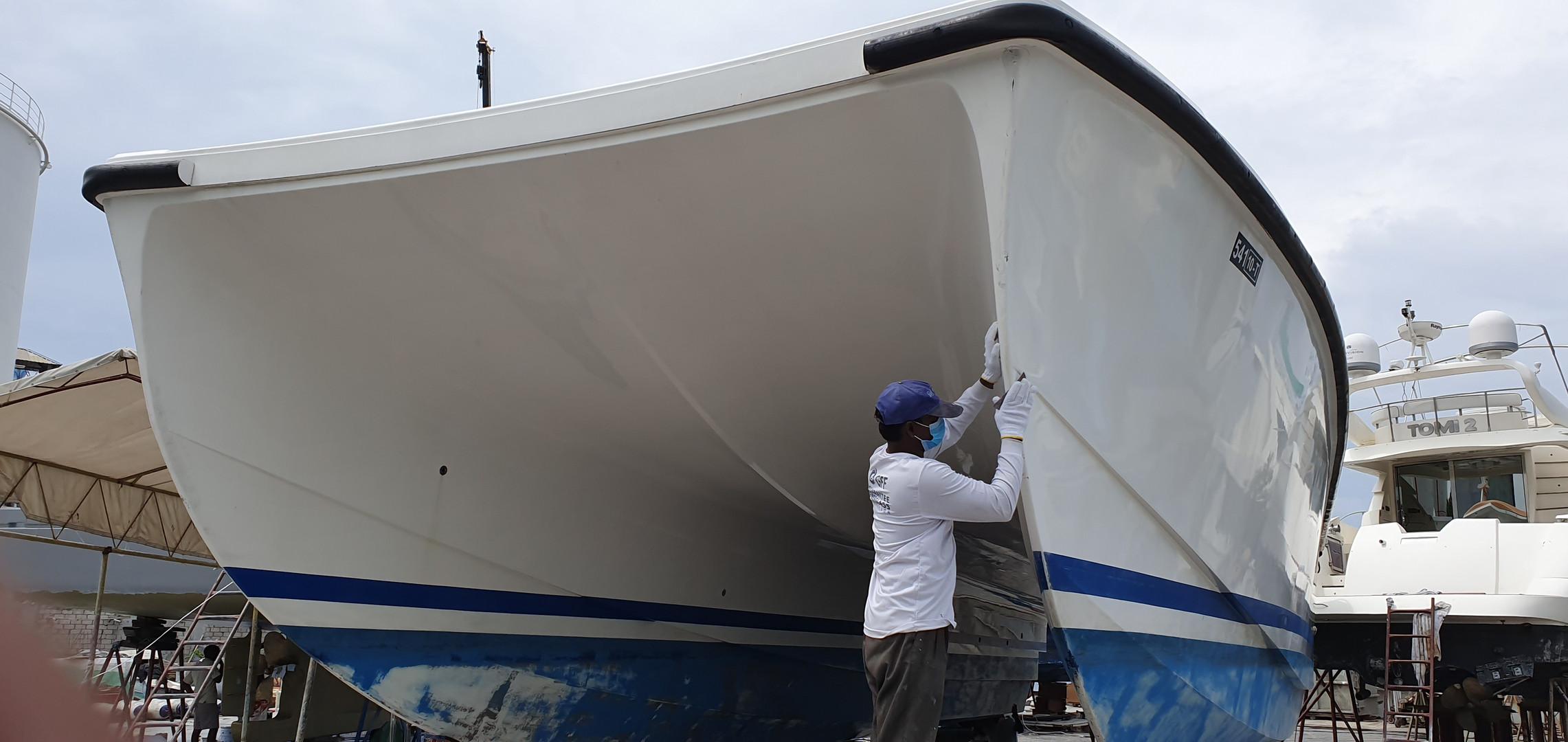 Jalboot Maldives Al-Jumana Repair