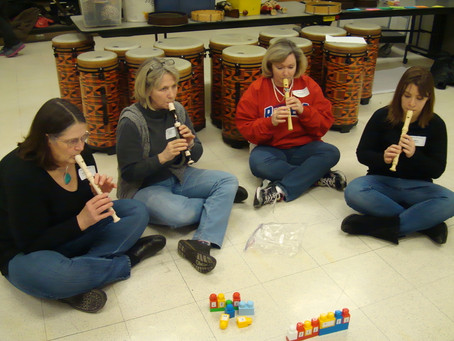 Beat Blocks were highlighted at the GCAOSA session in February 2014 with Jean Hersey