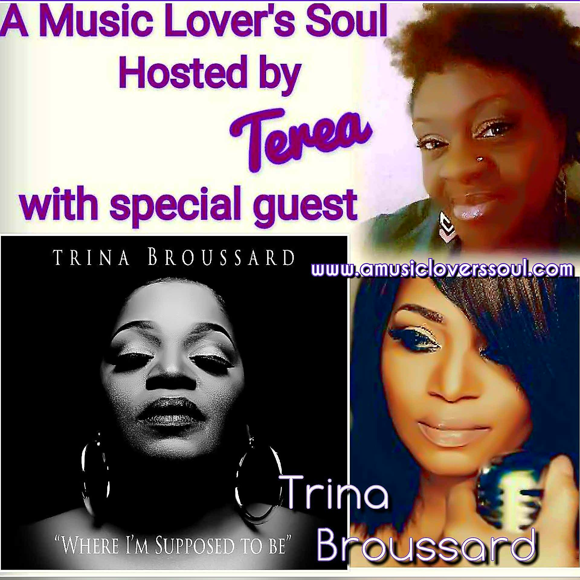Trina Broussard Talks New Music
