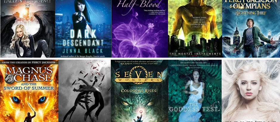 10 Amazing YA/Teen Fiction Books with Gods, Goddesses & Angels