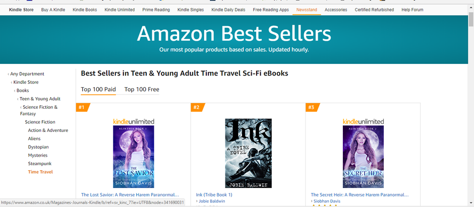 How I wrote a novel and made #2 on an Amazon Bestseller List in 5 Weeks