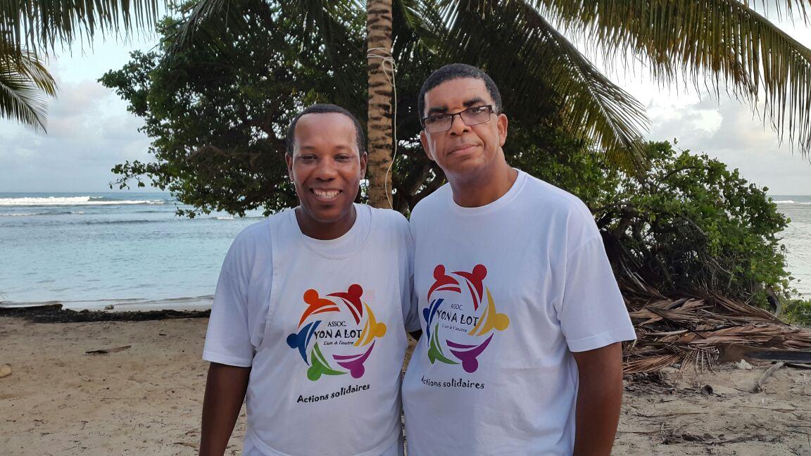 Le président et le vice président