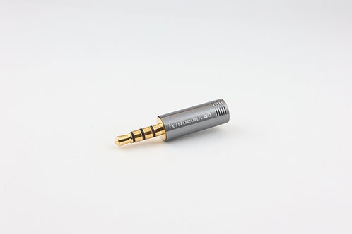 Pentaconn AUDIO PLUG 3.5mm  4pole OFC Straight type NBP1-13-004
