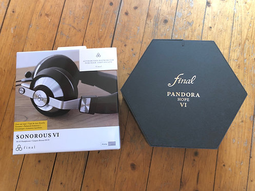 SONOROUS VI + PANDORA HOPE BOX