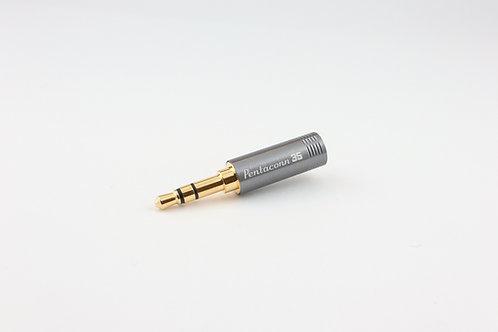Pentaconn AUDIO PLUG 3.5mm  3pole OFC Straight type NBP1-13-003GM