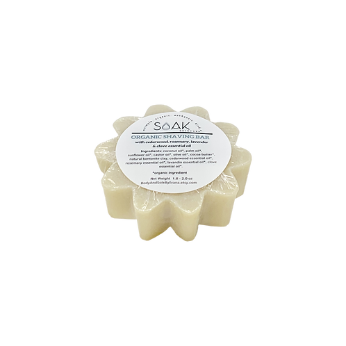 Organic Shaving bar soap