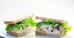 Creamy & Crunchy Chicken Salad Sandwich