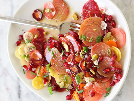 Pomegranate & Beet Salad Inspo