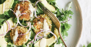 Vegetarian Falafel Summer Salad