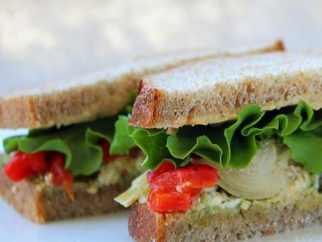 The Mediterranean Vegetarian Sandwich