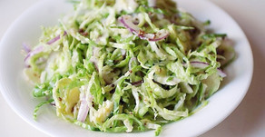 Shaved Brussel Sprout Salad with Pecorino
