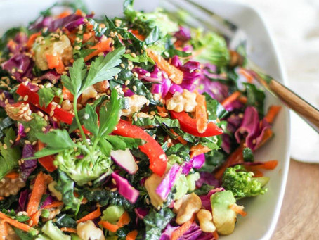Love a Beautiful Detox Salad!