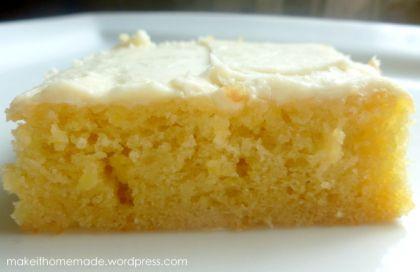 Lemon Cake - Yum - with Buttermilk