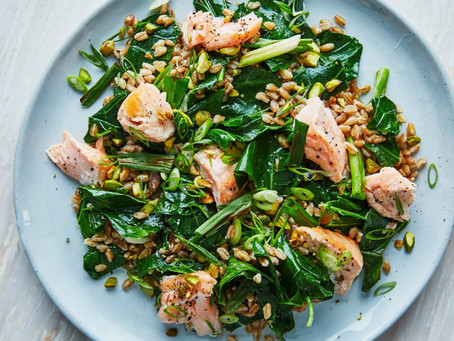 Salmon & Farro Grain Bowl