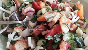 Panzanella Salad - Yum!