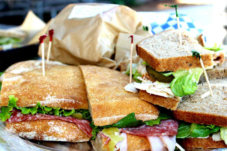 Sandwich Platter Love