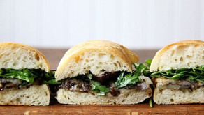 Balsamic Roasted Eggplant Sandwiches with Arugula - Delish