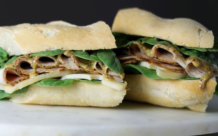 Honey Dijon Chicken Sandwich by Lunchbox