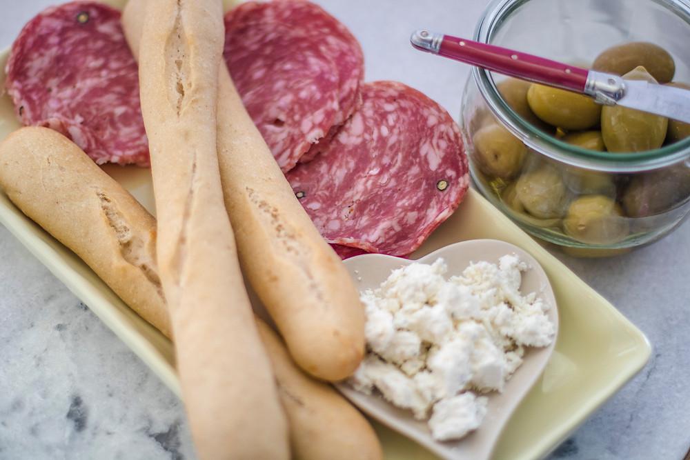 salami platter