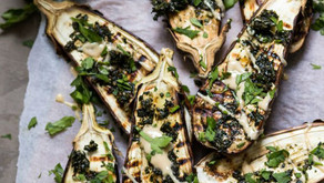 Charred Eggplant - Yes Please!